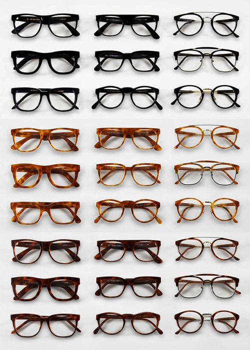 Glasses collection
