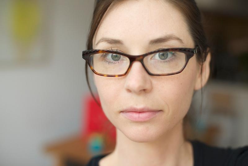 Girl in Glasses Headshot | Karina Louise Photography
