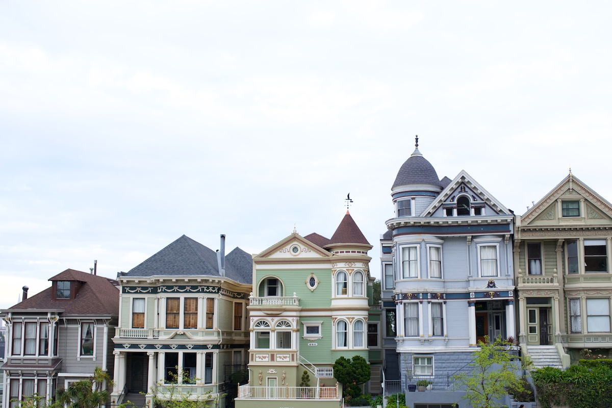 Victorian Houses in SF | Karina Louise Photography