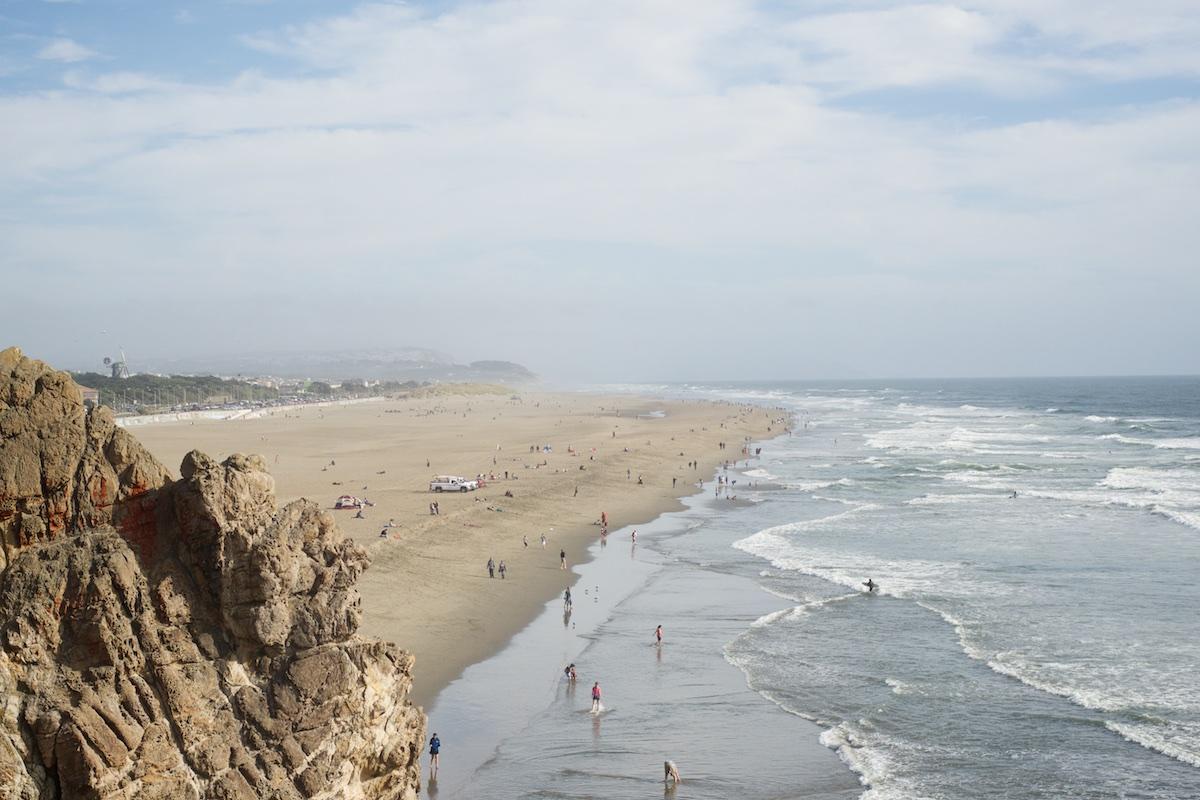 Ocean Beach in SF | Karina Louise Photography