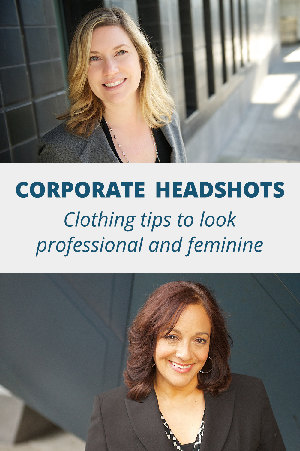 what to wear for your corporate headshot professional women | Karina Louise Photography